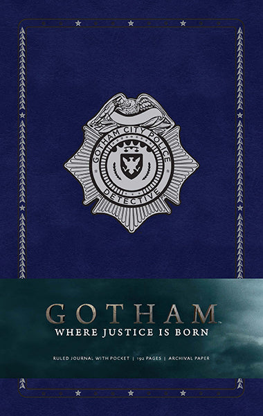 Gotham Hardcover Ruled Journal