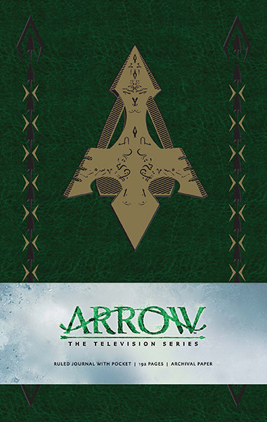 Arrow Hardcover Ruled Journal