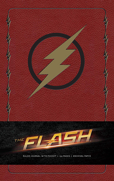 The Flash Hardcover Ruled Journal