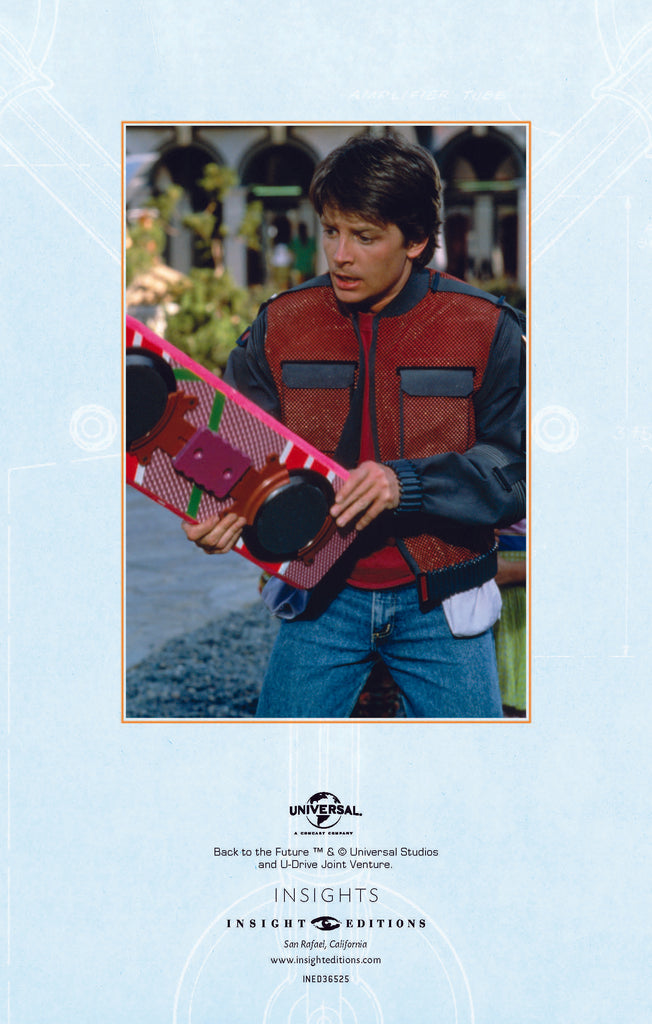 Back to the Future Hardcover Ruled Journal