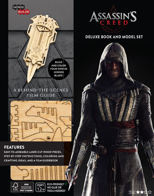 Incredibuilds: Assassin's Creed Deluxe Book and Model Set
