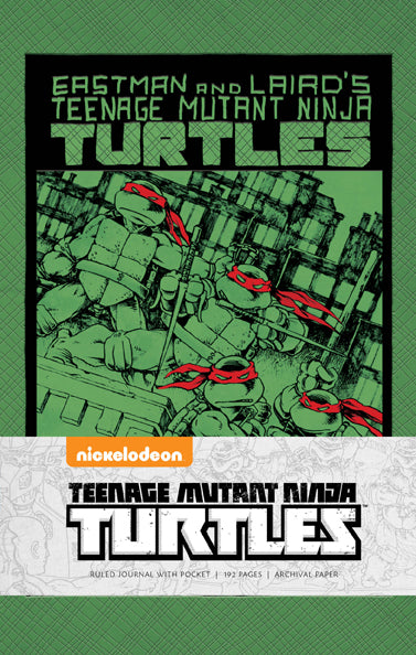 Teenage Mutant Ninja Turtles: Classic Hardcover Ruled Journal