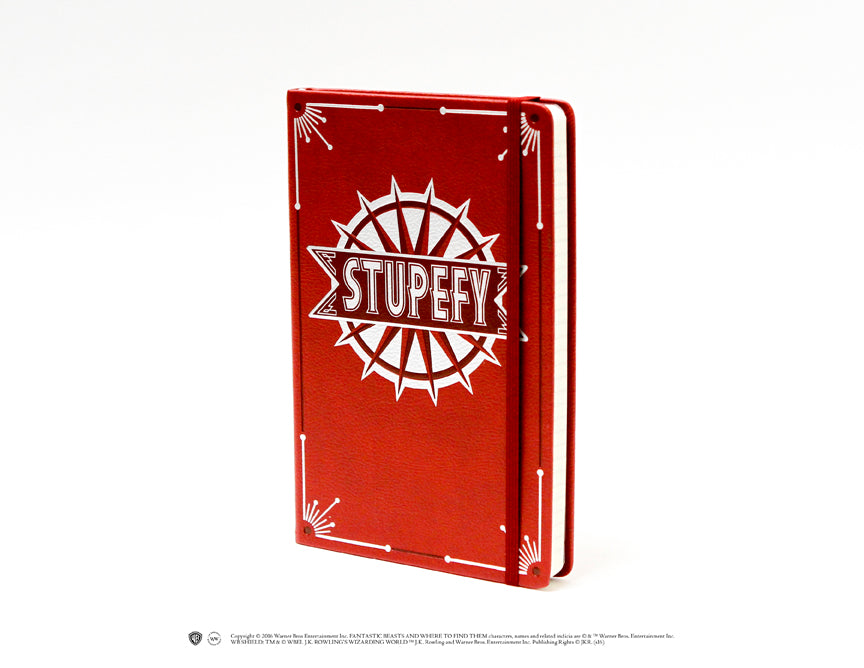 Stupefy Hardcover Ruled Journal [Fantastic Beasts]