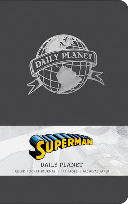 Superman: Daily Planet Ruled Pocket Journal