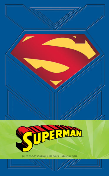 Superman Ruled Pocket Journal