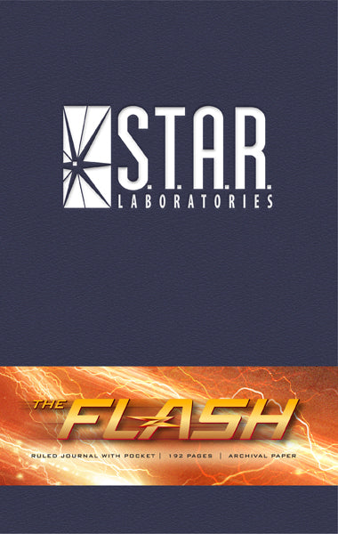The Flash: S.T.A.R. Labs Hardcover Ruled Journal