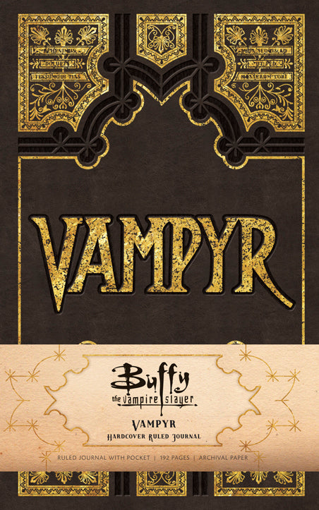 Buffy the Vampire Slayer Vampyr Hardcover Ruled Journal