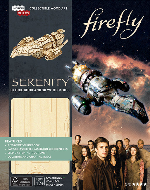 IncrediBuilds: Firefly: Serenity Deluxe Book and Model Set