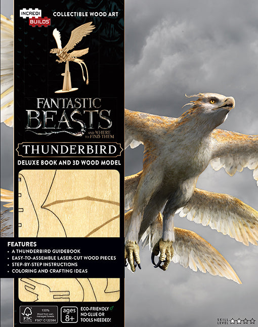 IncrediBuilds: Fantastic Beasts and Where to Find Them: Thunderbird Deluxe Book and Model Set