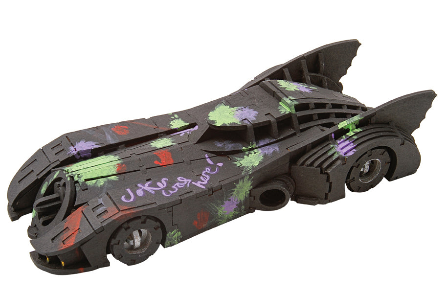 IncrediBuilds: Batmobile Signature Series 3D Wood Model and Book