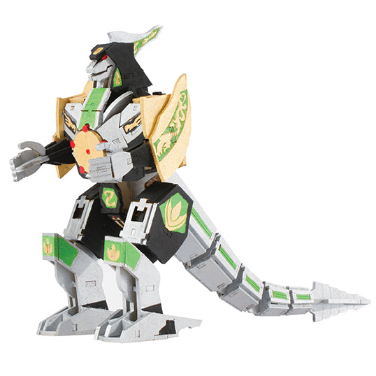 IncrediBuilds: Power Rangers: Dragonzord 3D Wood Model and Poster