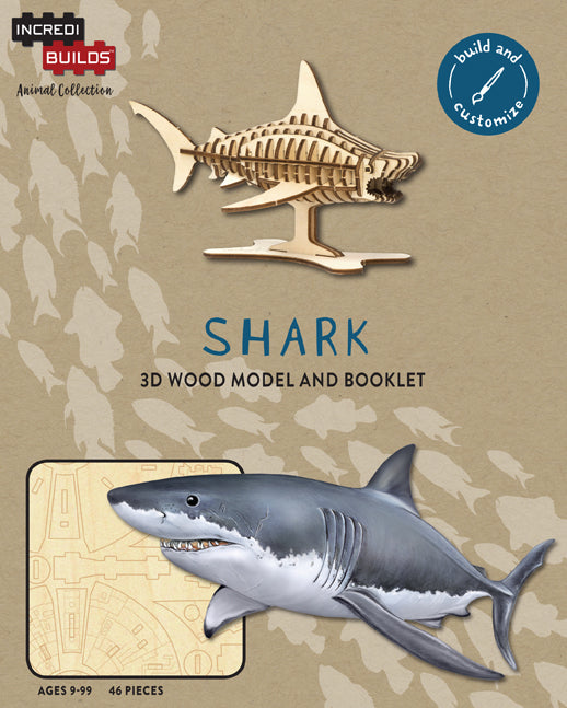 IncrediBuilds Animal Collection: Shark