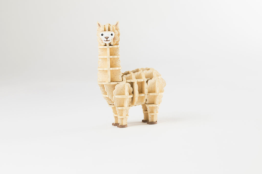 IncrediBuilds Animal Collection: Alpaca