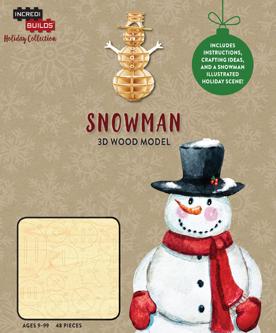 IncrediBuilds Holiday Collection: Snowman