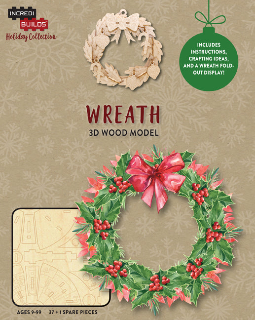 IncrediBuilds Holiday Collection: Wreath