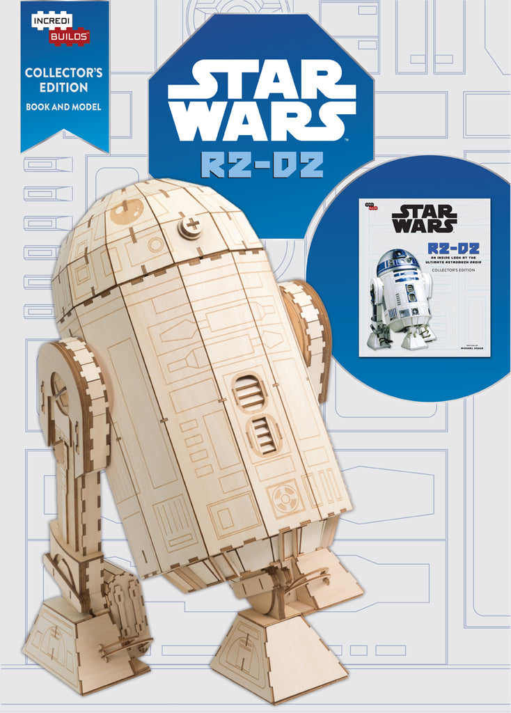 IncrediBuilds R2-D2: Collector's Edition Book and Model