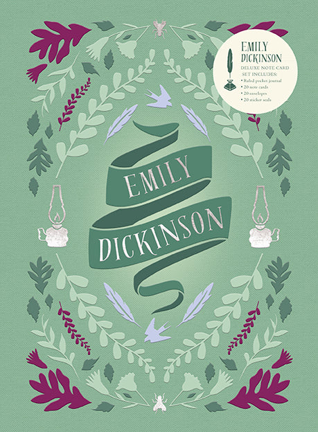 Emily Dickinson Deluxe Note Card Set (With Keepsake Book Box)