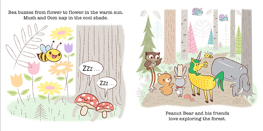 Peanut Bear: What's in the Forest?
