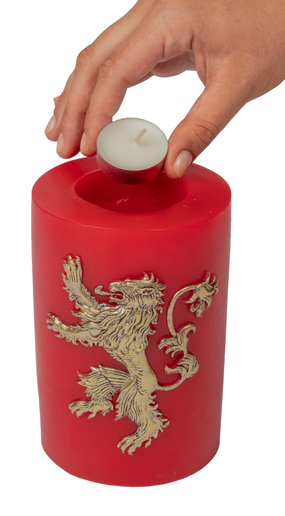 Game of Thrones: House Lannister Sculpted Sigil Candle