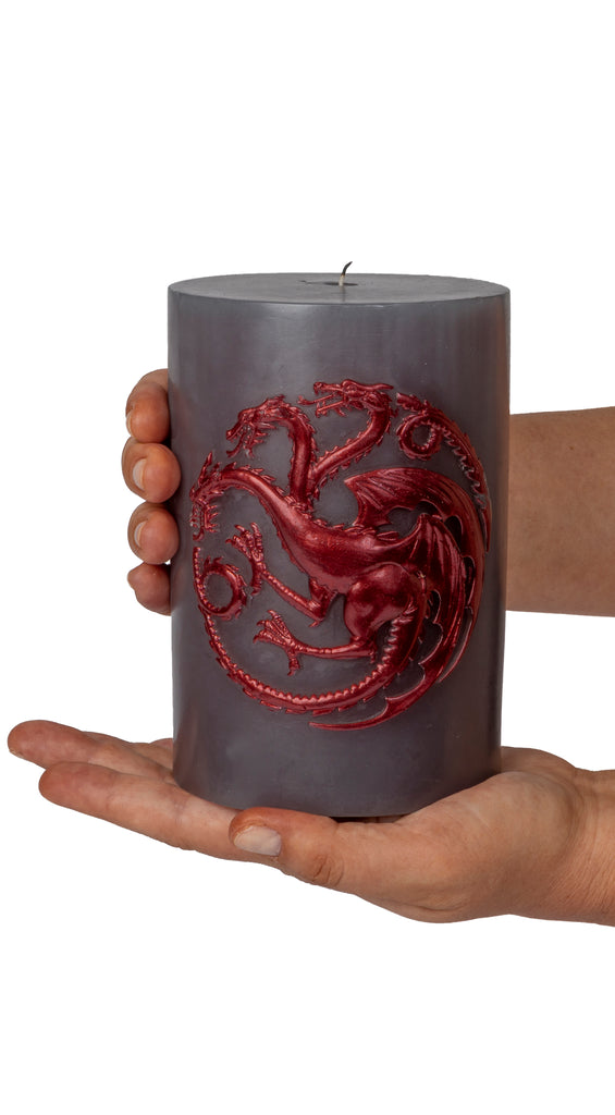 Game of Thrones: House Targaryen Sculpted Sigil Candle