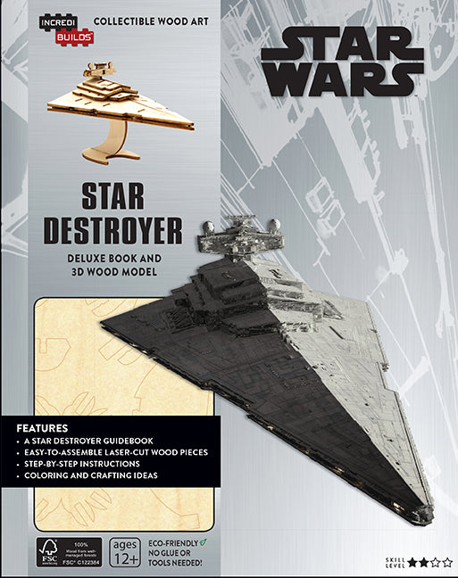IncrediBuilds: Star Wars: Star Destroyer Deluxe Book and Model Set