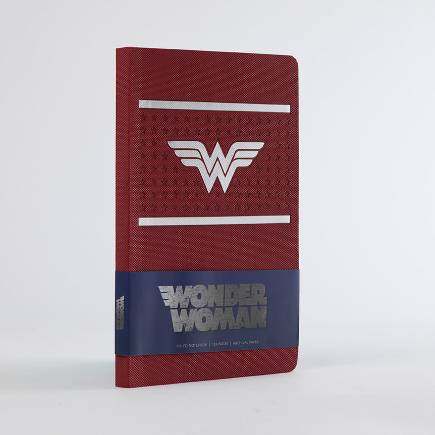 DC Comics: Wonder Woman Ruled Notebook