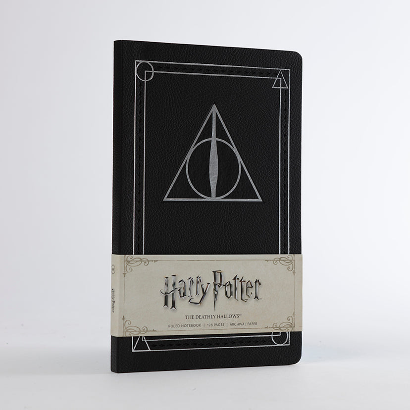 Harry Potter: The Deathly Hallows Ruled Notebook