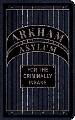 DC Comics: Arkham Asylum Desktop Stationery Set (With Pen)