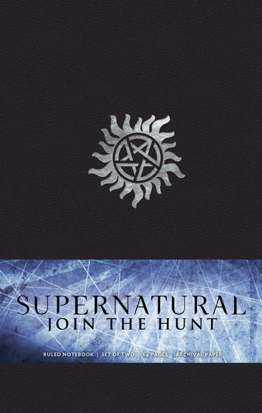 Supernatural: Join the Hunt Notebook Collection (Set of 2)