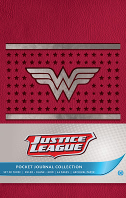 DC Comics: Justice League Pocket Journal Collection (Set of 3)