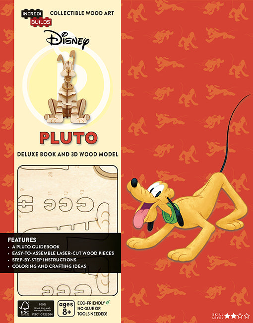 IncrediBuilds: Disney: Pluto Deluxe Book and Model Set