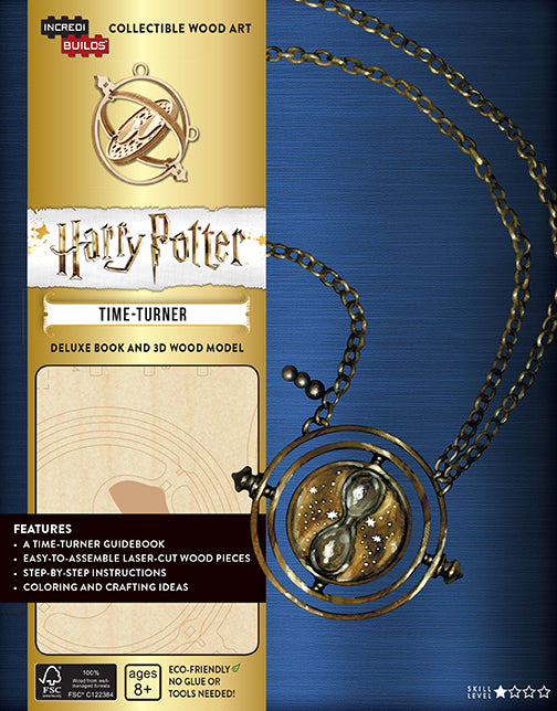 IncrediBuilds: Harry Potter: Time-Turner Deluxe Book and Model Set