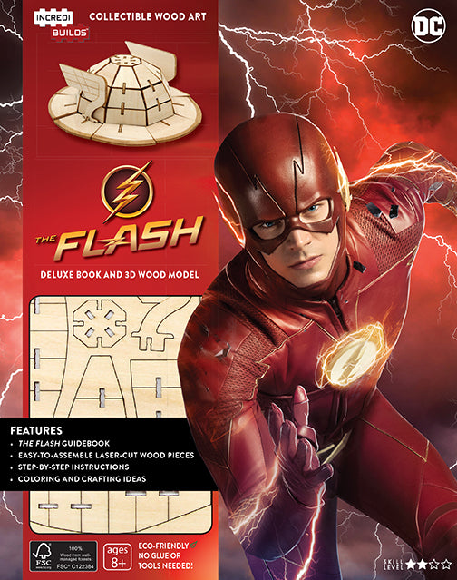 IncrediBuilds: The Flash Deluxe Book and Model Set