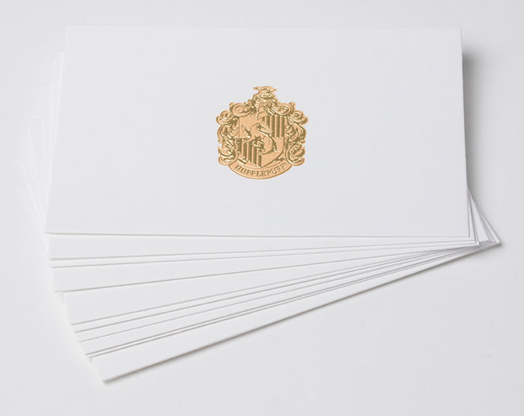 Harry Potter: Hufflepuff Foil Note Cards (Set of 10)