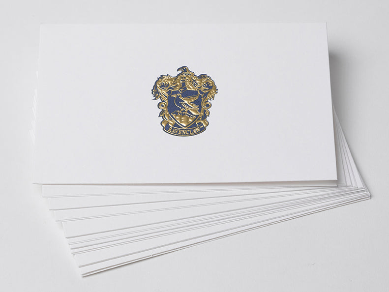 Harry Potter: Ravenclaw Foil Note Cards (Set of 10)