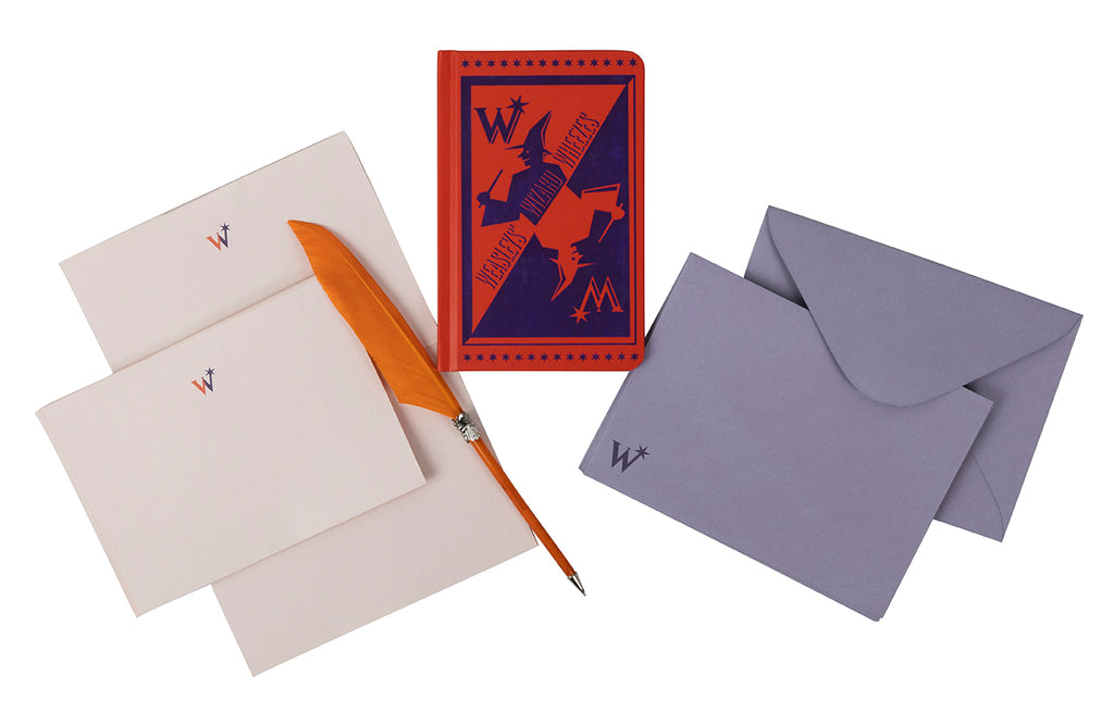 Harry Potter: Weasleys' Wizard Wheezes Desktop Stationery Set (With Pen)