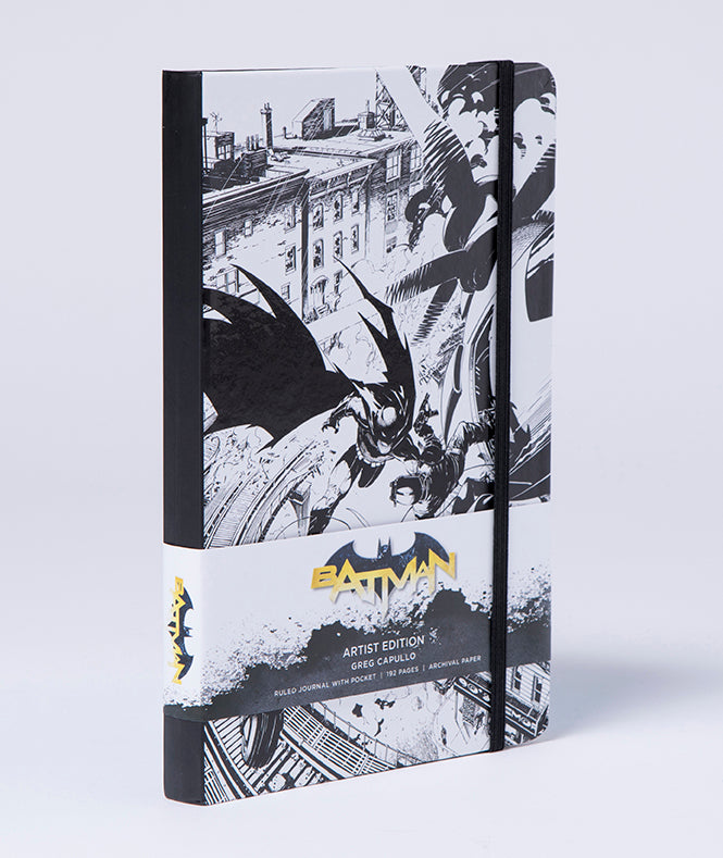 DC Comics: Batman Hardcover Ruled Journal: Artist Edition