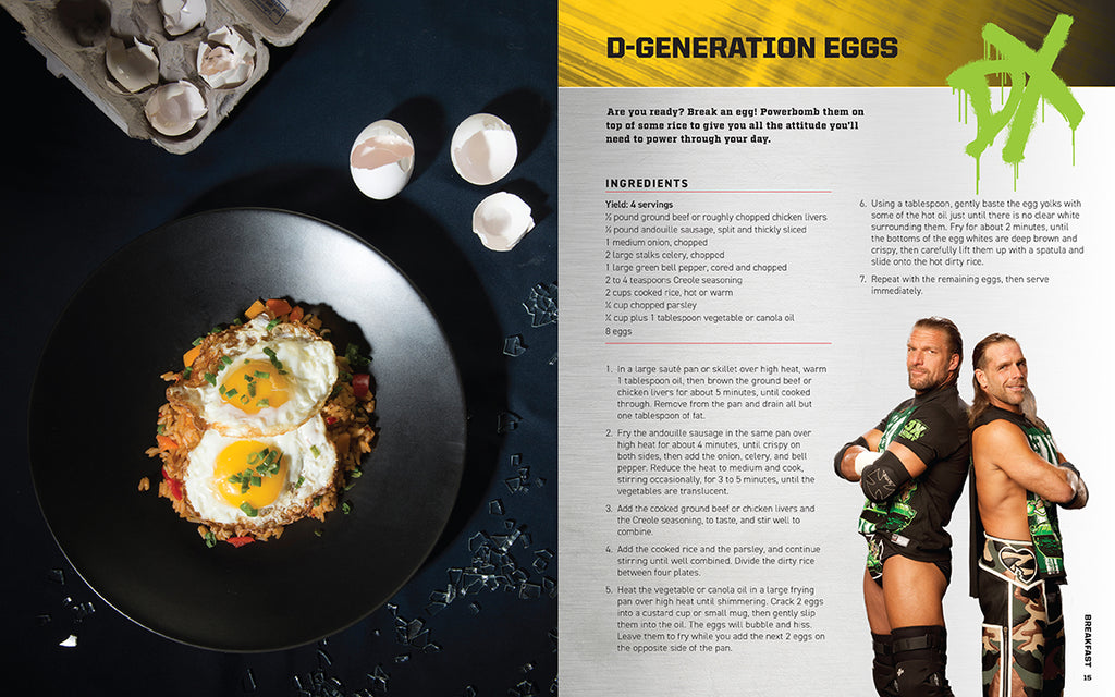 WWE: The Official Cookbook