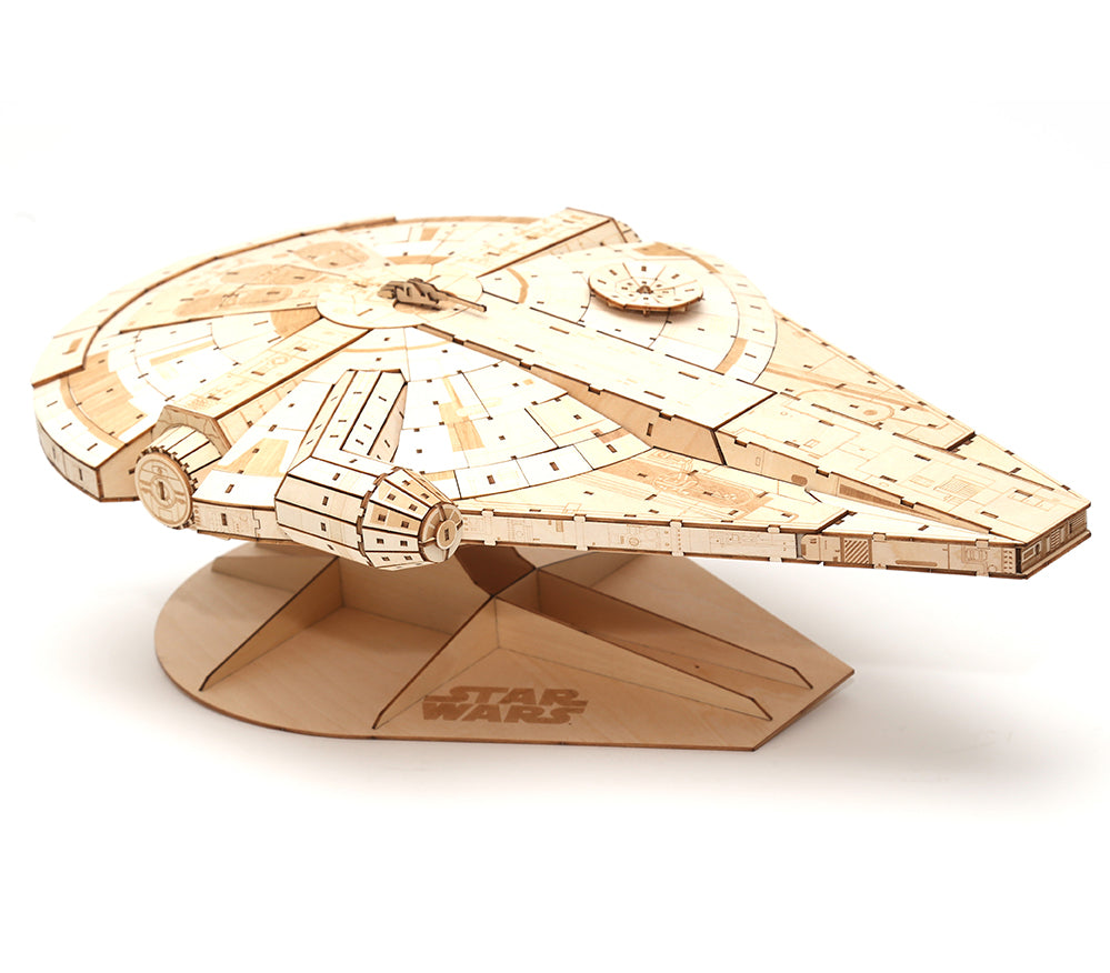 IncrediBuilds: Millennium Falcon: Collector's Edition Book and Model