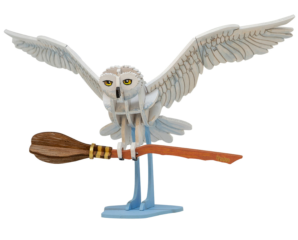 IncrediBuilds: Harry Potter: Hedwig Deluxe Book and Model Set