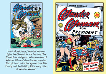 DC Comics: Wonder Woman: The Complete Covers Vol. 1 (Mini Book)