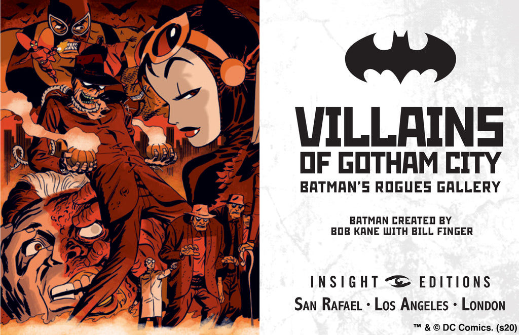 DC Comics: Villains of Gotham City (Tiny Book)
