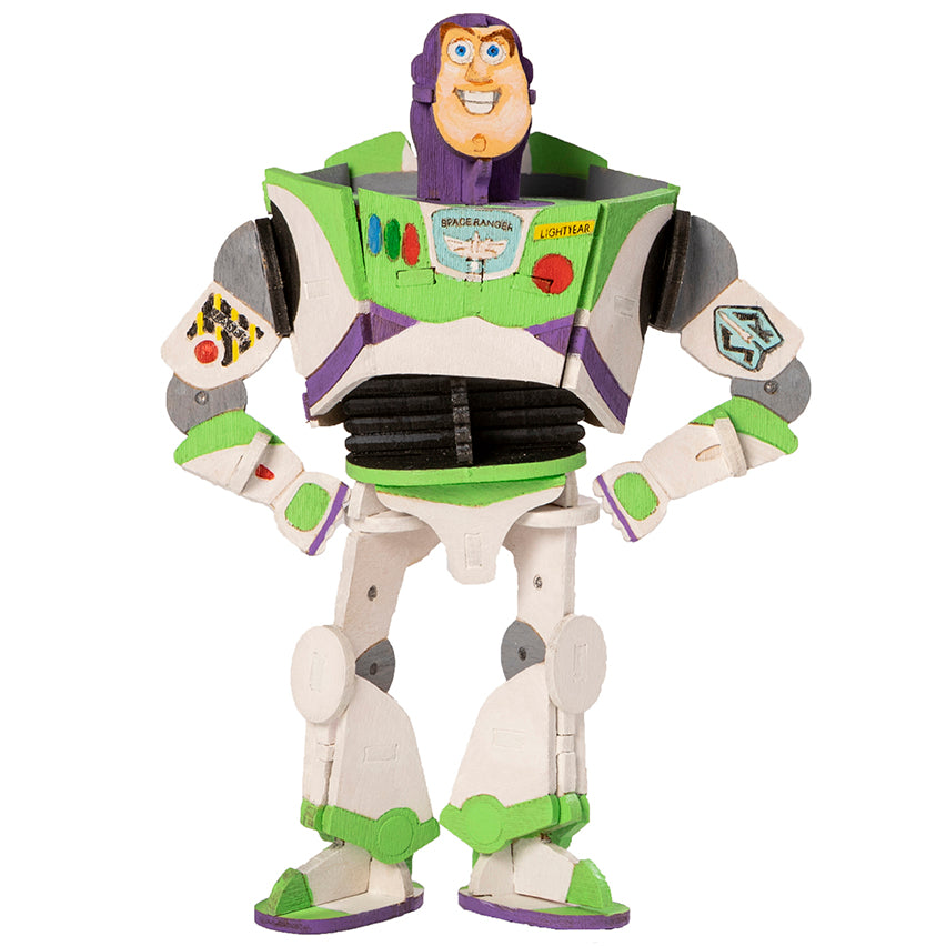 IncrediBuilds: Toy Story: Buzz Lightyear Deluxe Book and Model Set