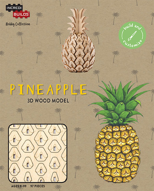 IncrediBuilds Hobby Collection: Pineapple