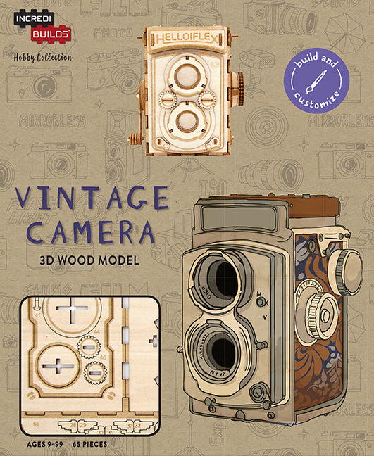 IncrediBuilds Hobby Collection: Vintage Camera