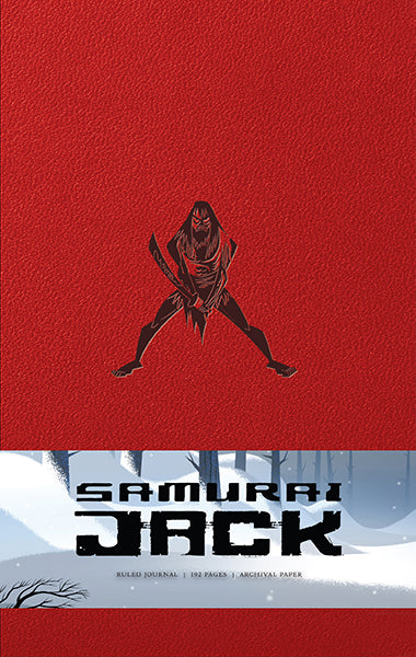 Samurai Jack Hardcover Ruled Journal