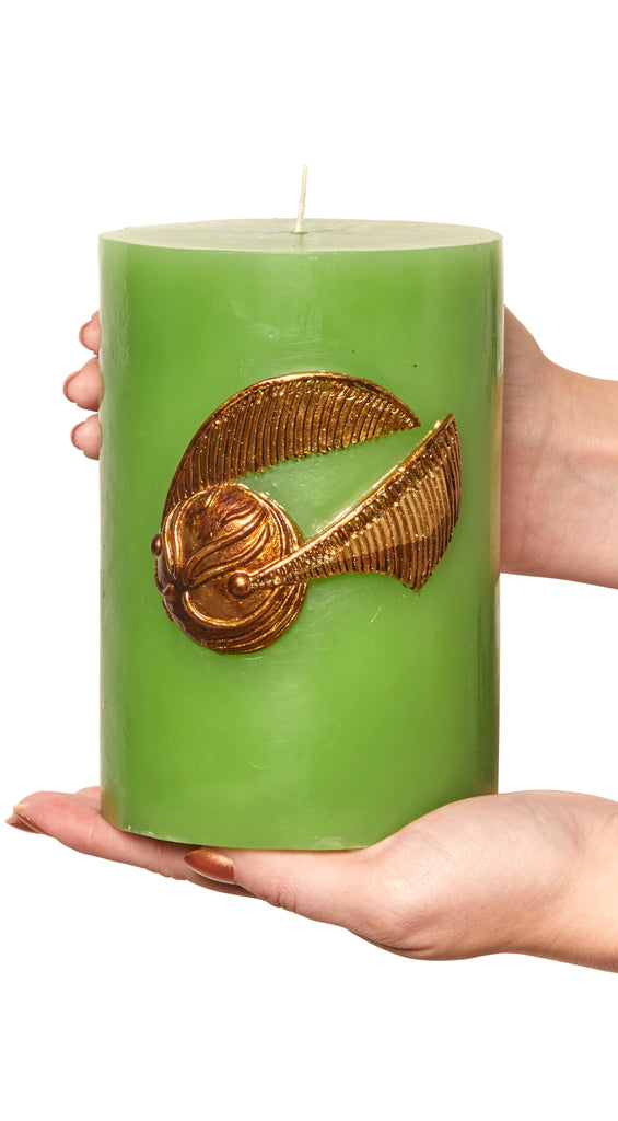Harry Potter: Golden Snitch Sculpted Insignia Candle