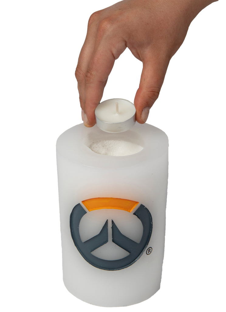 Overwatch Sculpted Insignia Candle
