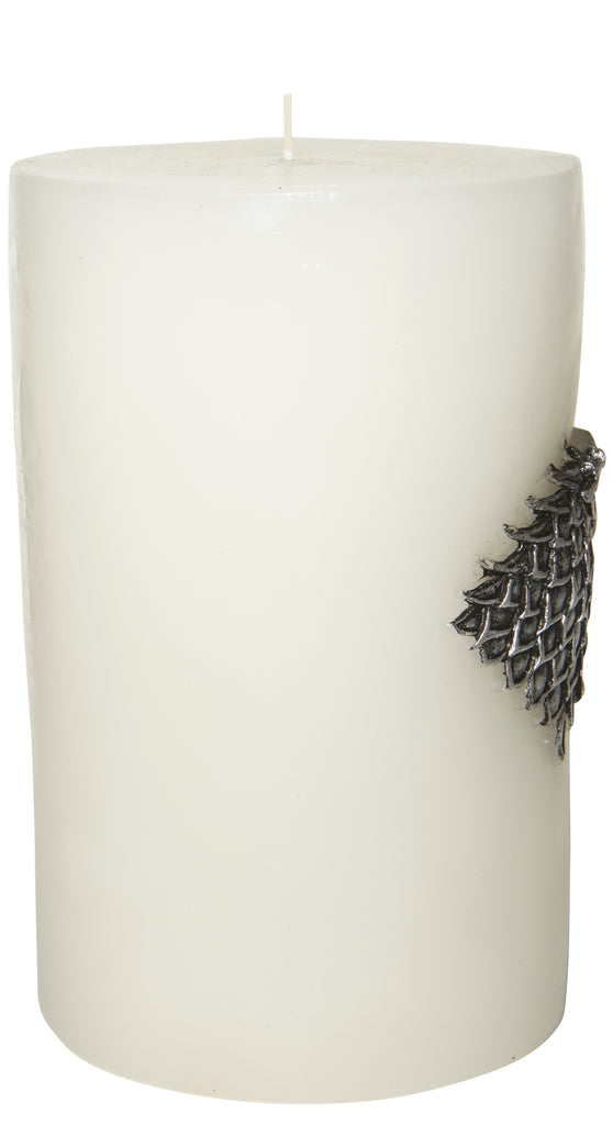 Game of Thrones: House Stark Large Sculpted Sigil Candle