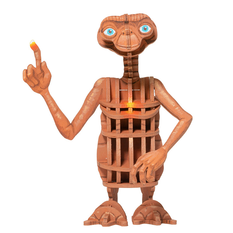 IncrediBuilds: E.T. the Extra-Terrestrial Book and 3D Wood Model